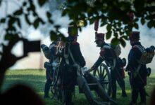 إعادة إحياء معركة غوردى بولاية ساكسونيا في ألمانيا