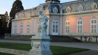 قصر من العصر الباروكي بمدينة دوسلدورف